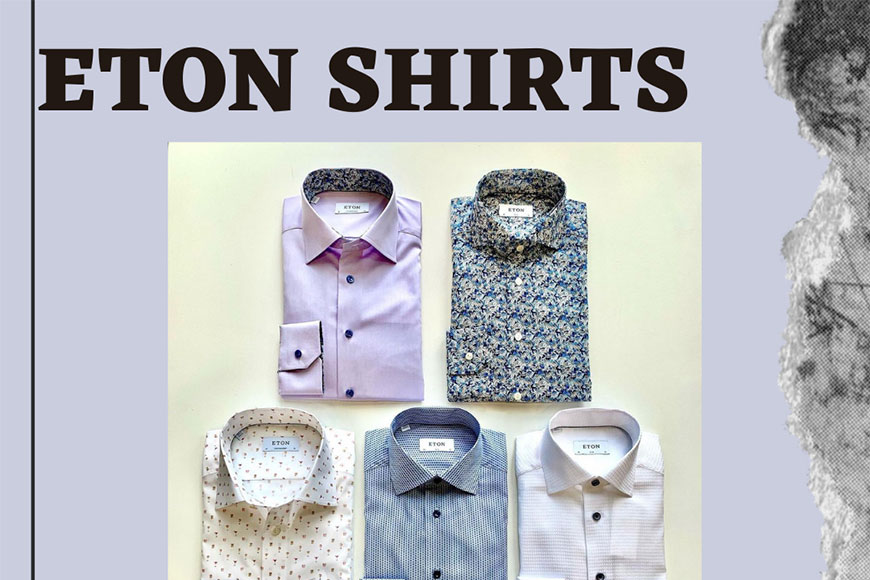 Eton Shirts - Buy Four Get One Free - Channer's Waterloo